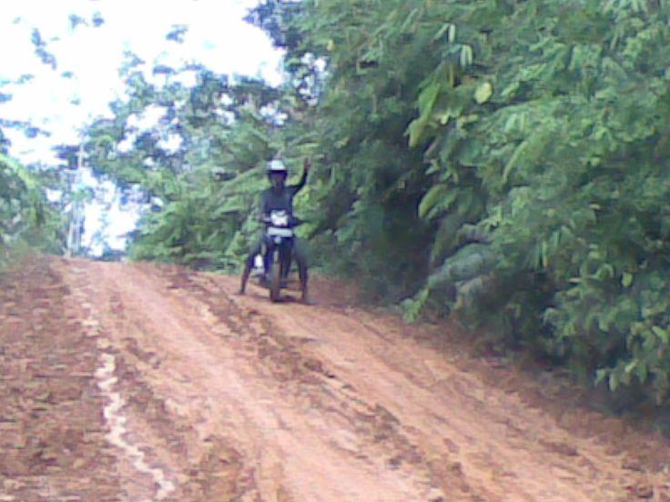 off road on Tumbang Payang