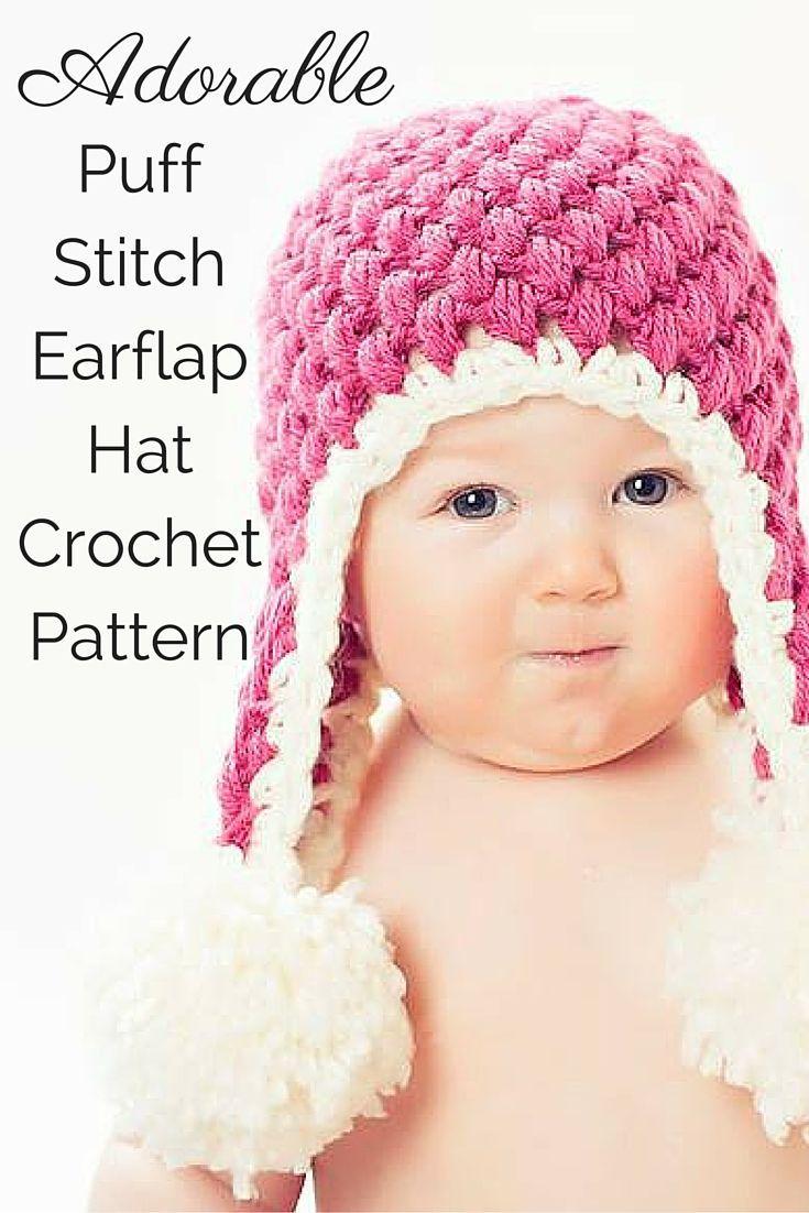 Crochet PATTERN - Crochet Hat Pattern - Baby Hat Crochet ...