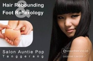 Nikmati Treatment Hair Rebounding Atau Foot Reflexology Di Salon Aunty Pop Tanggerang Mulai Rp.35,000 - www.evoucher.co.id #Promo #Diskon #Jual  Klik > http://evoucher.co.id/deal/Treatment-Di-Salon-Aunty-Pop  Yuk Treatment di Salon Auntie Pop Tanggerang, disana kamu dapat membuat Rambutmu Lurus & lembut atau menikmati foot reflexology yang membuat tubuh kembali relax dan bugar