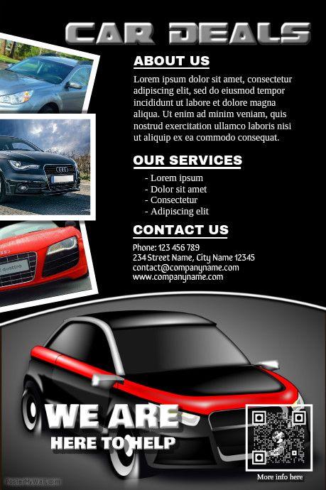 41 best car dealer flyer  diy  images on pinterest