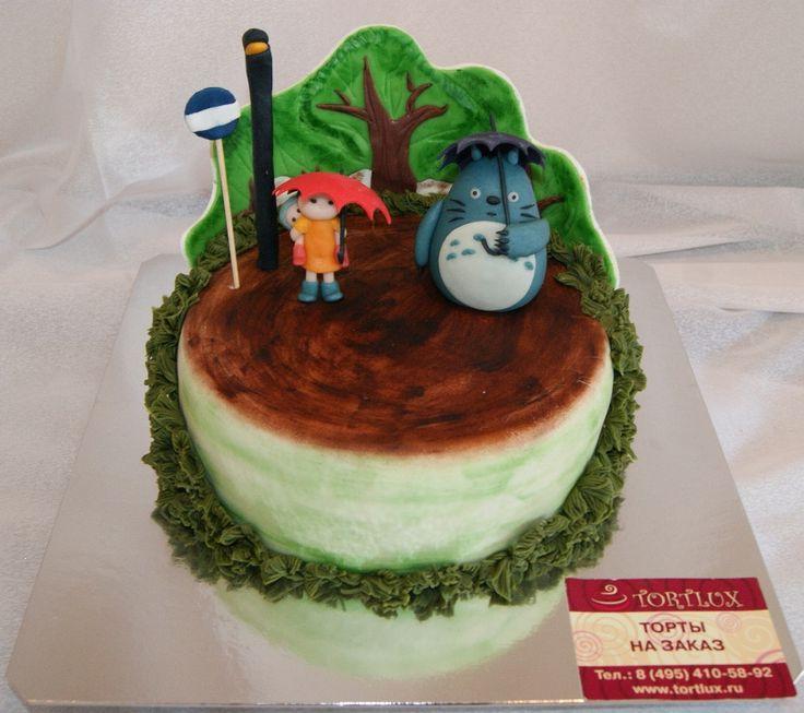Детский торт на тему мультфильма.Вес 3 кг.