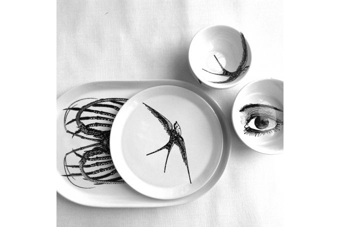 Swallow Side Plate by Studio Number 19