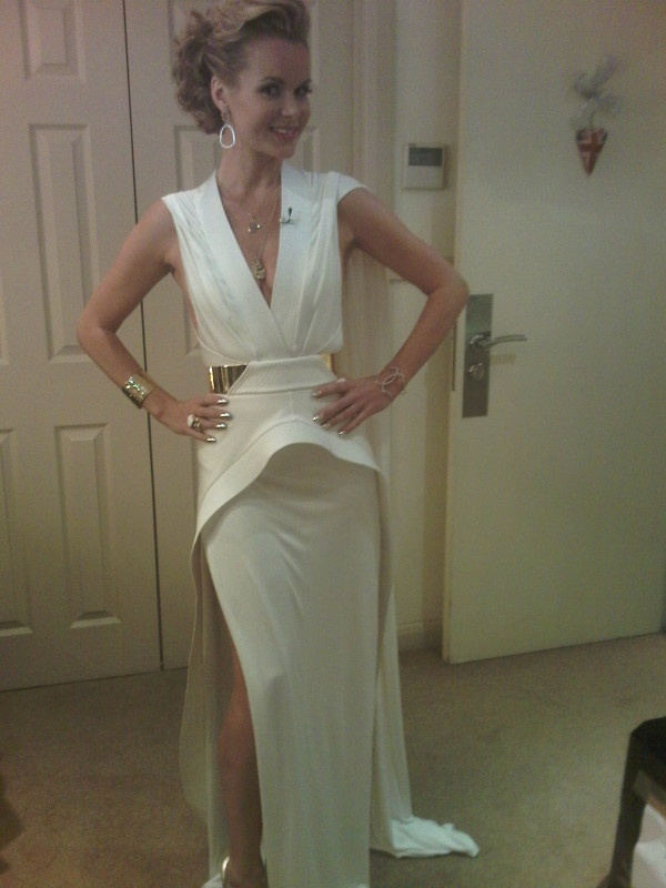 Amanda Holden Britains Got Talent 2012 dress