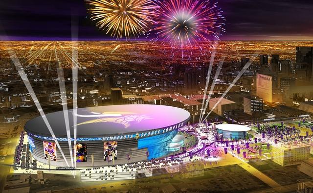 New Vikings Stadium: Viking Stadiums, Stadiums Rendering, Vikings Football, Stadiums News, Football Stadiums, Vikings Stadiums, Minnesota Vikings, Stadiums Image, Stadiums Bill