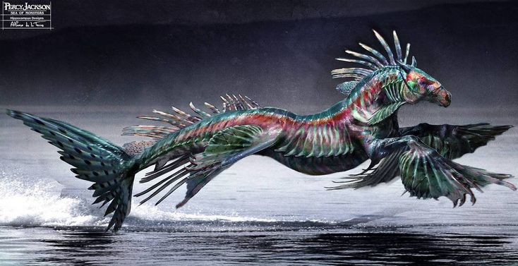 Hippocampus design for the movie Percy Jackson:Sea of Monsters by Alfonso De La Torre.Jackson Sea, Sea Of Monsters, Concept Art, Hippocampus Desing, Movie Percy, Art Shows, Fantasy Creatures, The Sea, Percy Jackson