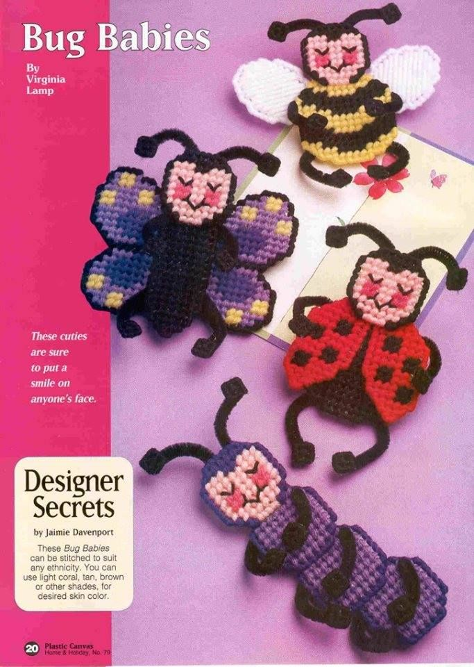 Bee and Flowers Wreath-Plastic Canvas Pattern or Kit