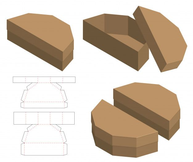 Pin On Paper Boxes Printables