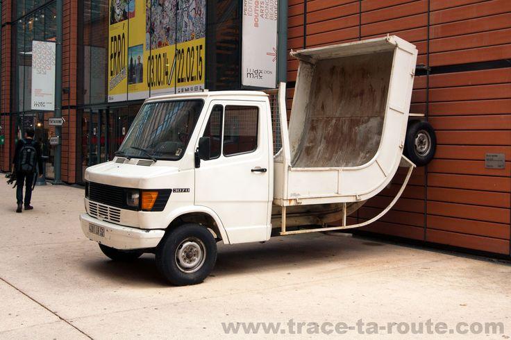 "Erwin Wurm [Austria] (b 1954) ""Truck"", 2005. Mercedes"