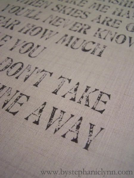 How to print onto fabric. Perhaps I can then staple it to empty wooden frame for some DIY canvas art.