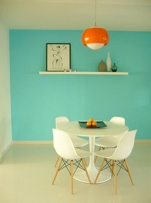 I want my walls this color #turquoise walls