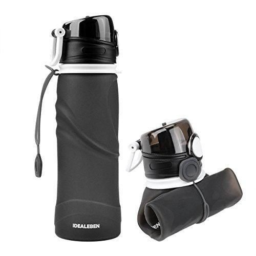 Oferta: 10.99€ Dto: -58%. Comprar Ofertas de Idealeben Botella de Agua de Silicona - 750ml botella de deportes de agua plegable portátil con dispositivo antigoteo Ideal p barato. ¡Mira las ofertas!