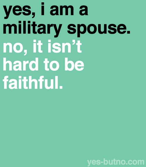 Airforce wife. 100% true~!