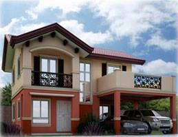 Gavina:  Inner Unit 5 Bedrooms, 3 Toilet & baths, Balcony, Covered porch, 2-car Carport, Provision for Lanai (rear) Floor Area: 166 Min. Lot Area: 156 Location: Camella Verra Metro North, Bignay, Valenzuela City Status: NRFO * Price starts at Php 7,773,166