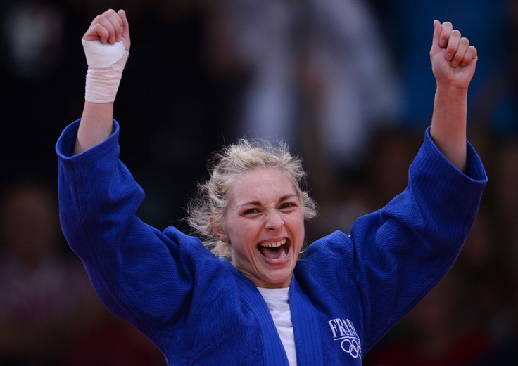 La Française Automne Pavia a remporté la médaille de bronze des -57 kg du tournoi olympique de judo
