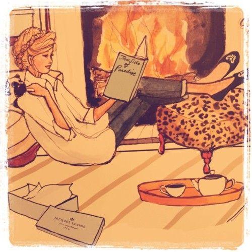 winter reading // highpanties✧