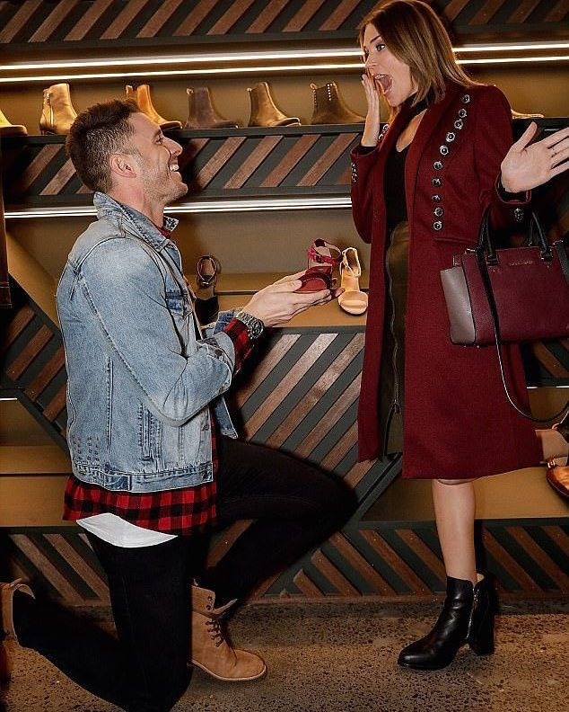 She said YES!  ...to checking out our new city store.  We had so much fun with this cheeky duo last night they were even rocking our Jaeger and Beryllium boots. Thanks to everyone who came we had a blast. @georgiealove @leeroyelliott