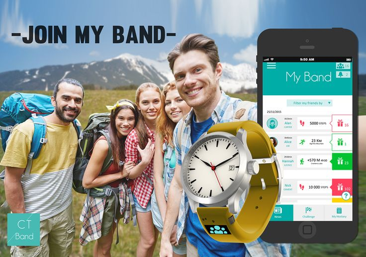 CT Band App #app #ctband