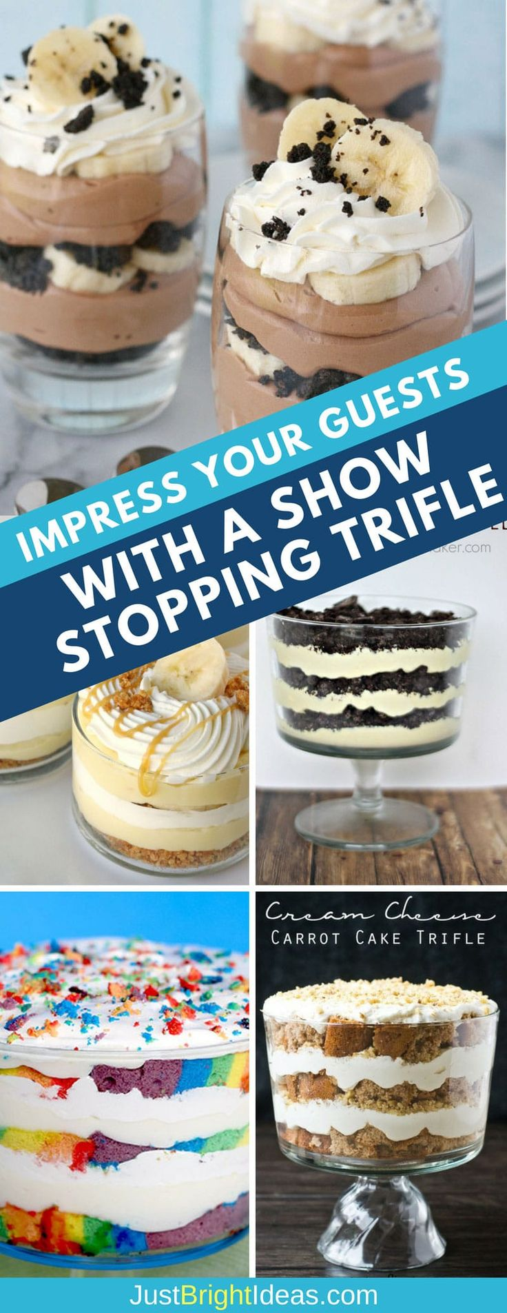 These easy trifle recipes are simple but delicious and perfect for the Holiday Season. From pot lucks to book clubs, trifles are perfect for feeding a crowd!