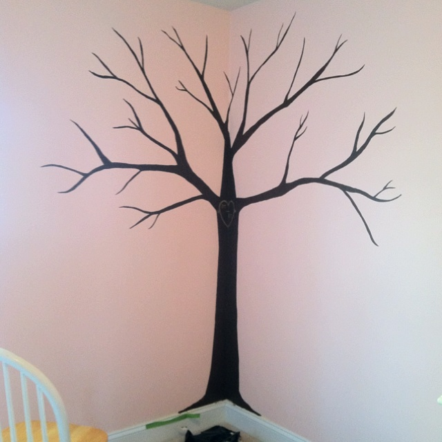 Tree I painted for a friend