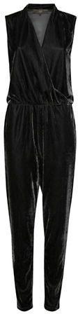 Ichi Cati Velour Jumpsuit  #ad #shopstyle #black #smartcasual #party