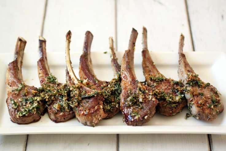 Pan Seared Lamb Chops with Rosemary and Garlic - The Food Lovers Kitchen