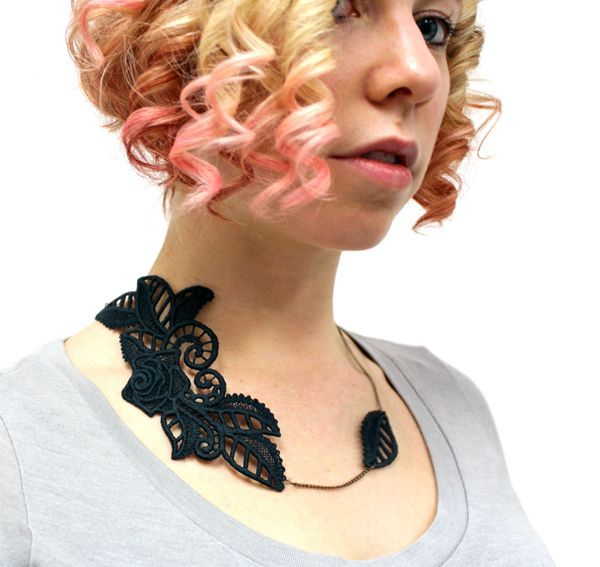 Tutorials urban threads lace accent necklace make it