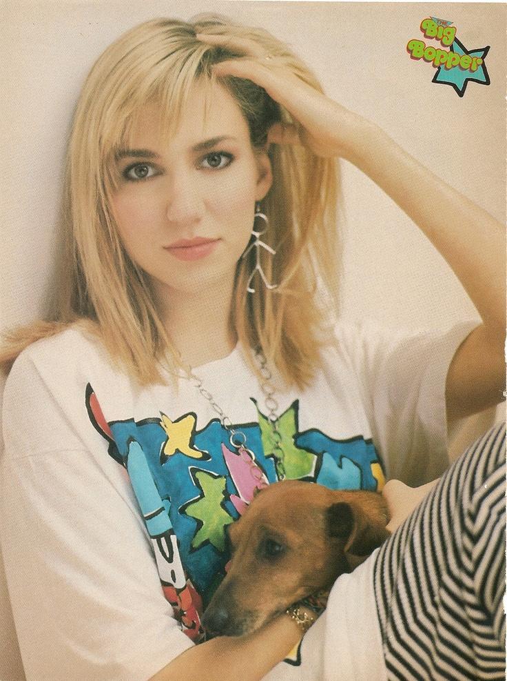 Debbie Gibson.....my idol as a teen!