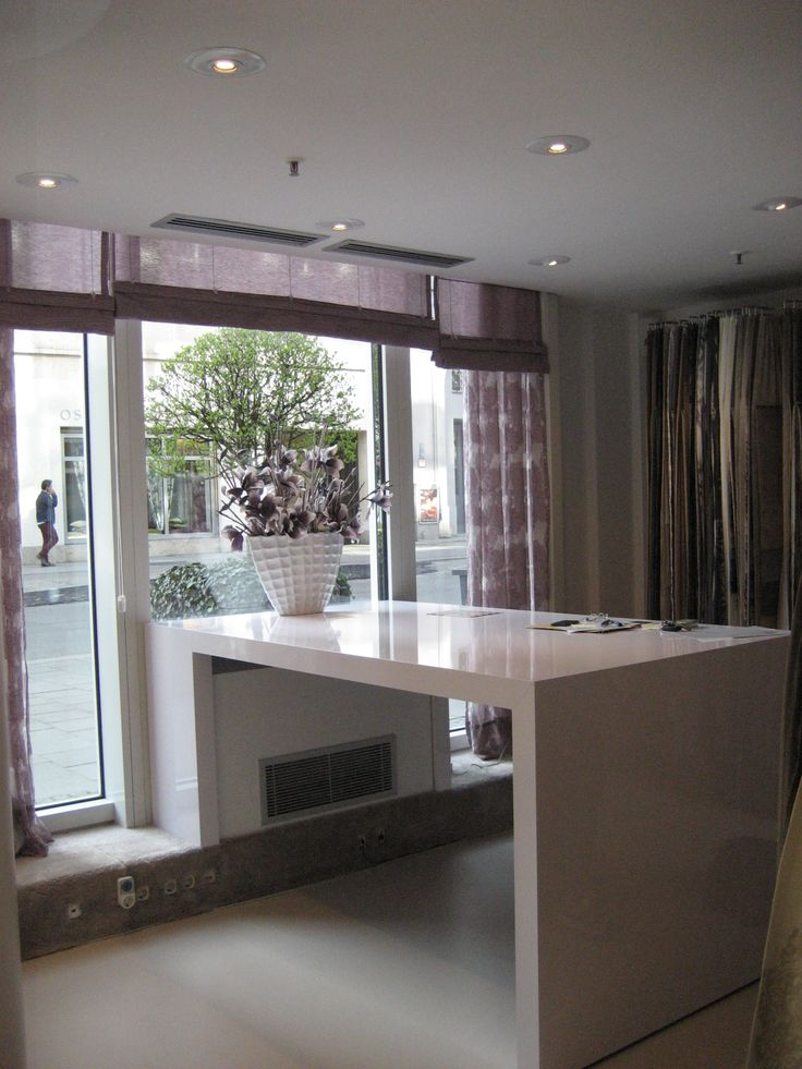 Kobe Showroom Munich #Nomad #kobefabrics #upholstery #curtains #design #interior