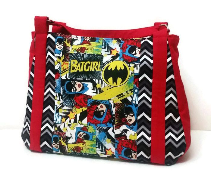 Bat Girl Custom Purse! Super excited to get this shipped out in the morning!!!