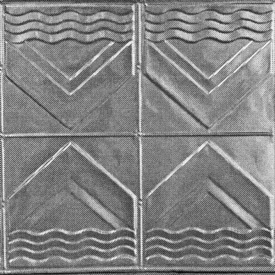 "This is the very art deco style panel called ""Bondi"".  This is most often used on awnings of shops.  http://www.heritageceilings.com.au/tempat/bondi.php"