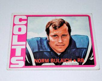 Vintage 1976 Topps Football Ed Marinaro New York by COLLECTORSZONE