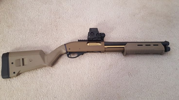 "house-of-gnar: "" Mossberg SBS with heat shield. """