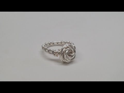 Jewelry Tutorial : How to Make Eyepins & Headpins : Three Types of Wire Wrapping - YouTube