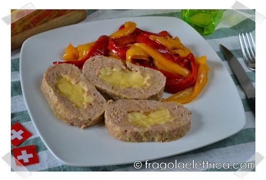 POLPETTONE CON CUORE FILANTE fragolaelettrica.com Le ricette di Ennio Zaccariello #Ricetta