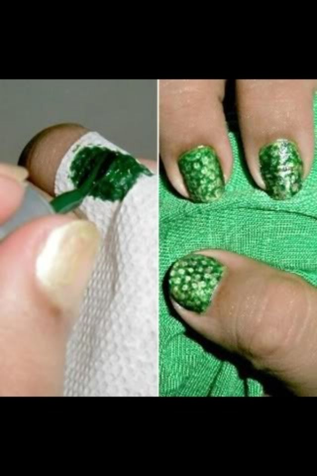 Quick and easy nail design tip