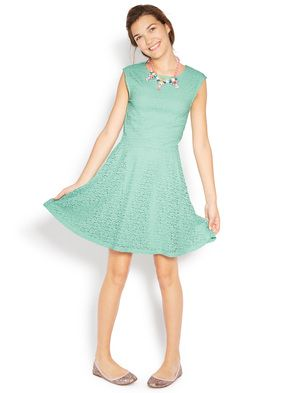 Cute mint lace dress from johnnie b!