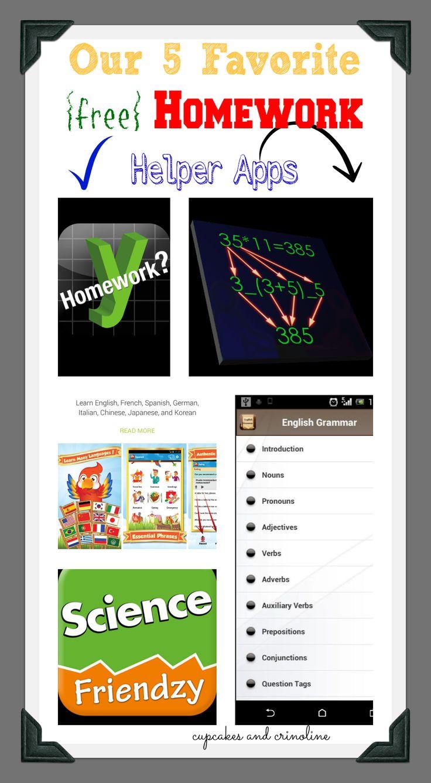 Our Favorite Homework Helper Apps