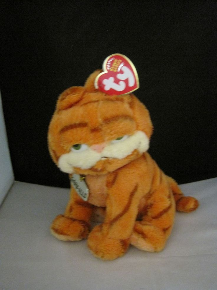 MWMT TY Garfield Cat Beanie Baby Retired New Rare Beautiful Collectors Quality | Toys & Hobbies, Beanbag Plush, Ty | eBay!