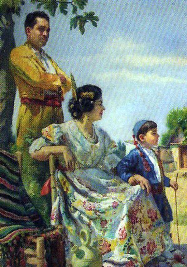 Valencianas pintadas jos peris arag valencianas - Pintor valenciano ...