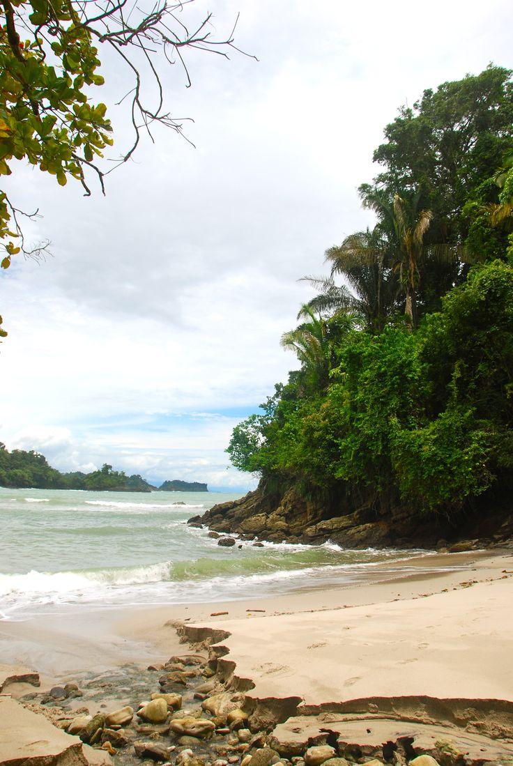 Nationalpark Manuel Antonio - Strand, Regenwald, Tiere, Costa Rica.  Karibik.