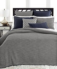 Hotel Collection Linen Navy Coverlet Collection Shopping