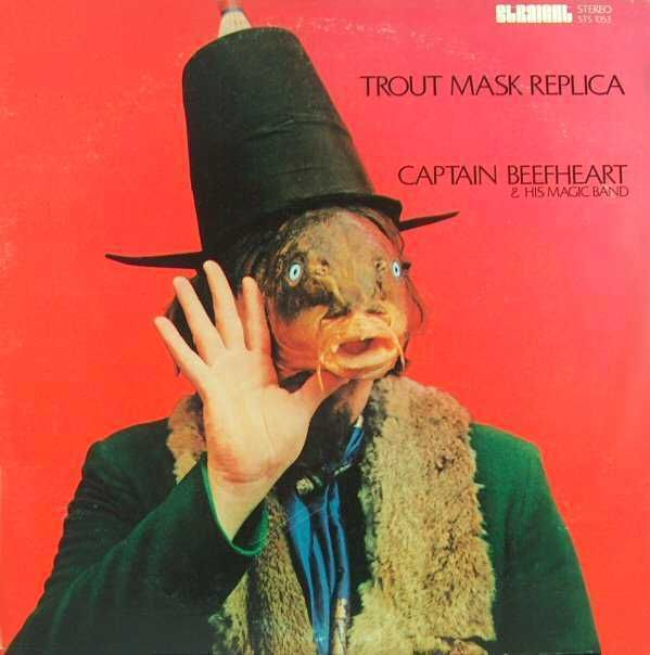 Captain Beefheart and his Magic Band: Trout Mask Replica (1969), cover by Cal Schenkel