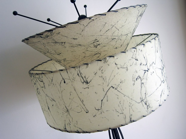 Fiberglass Lampshade Again House To Home Pinterest