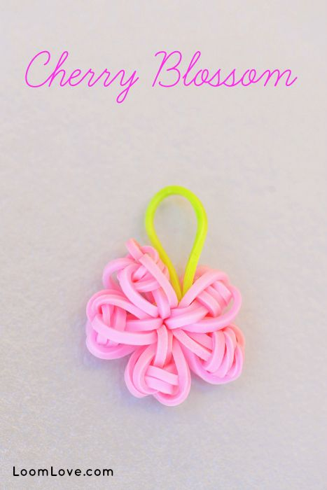 How to Make a Cherry Blossom Charm