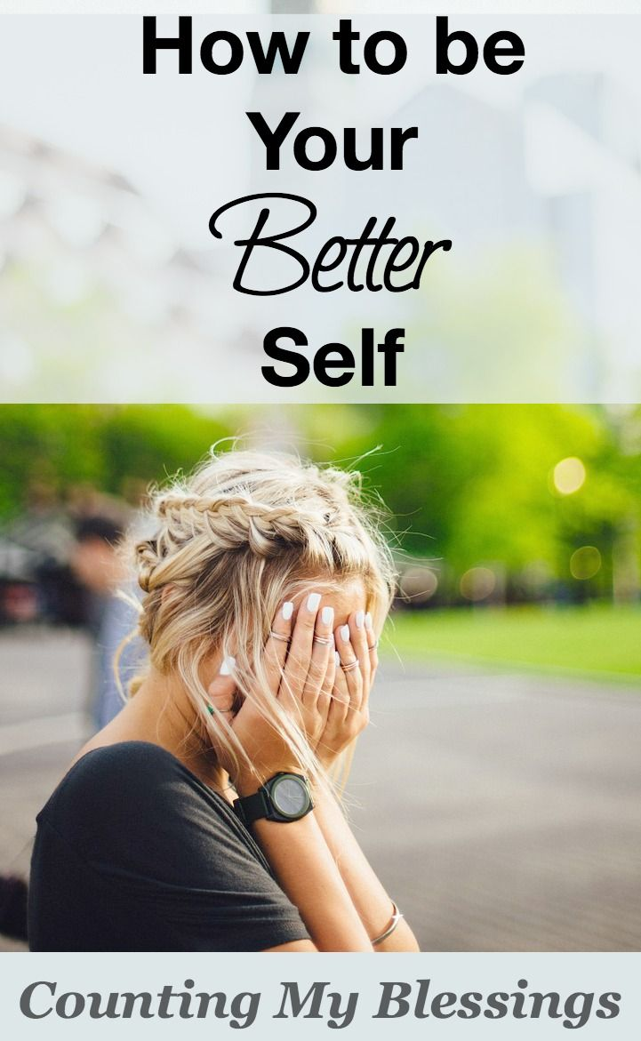 """Everyone says """"Be Yourself."""" But what if you were created for better? What if you were created to be your better self?"""