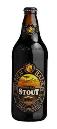 Cerveja Baden Baden Stout, estilo Foreign Extra Stout, produzida por Baden Baden, Brasil. 7.5% ABV de álcool.