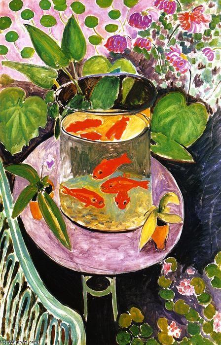 1000 id es sur le th me toile peinte la main sur for Acheter poisson rouge lille