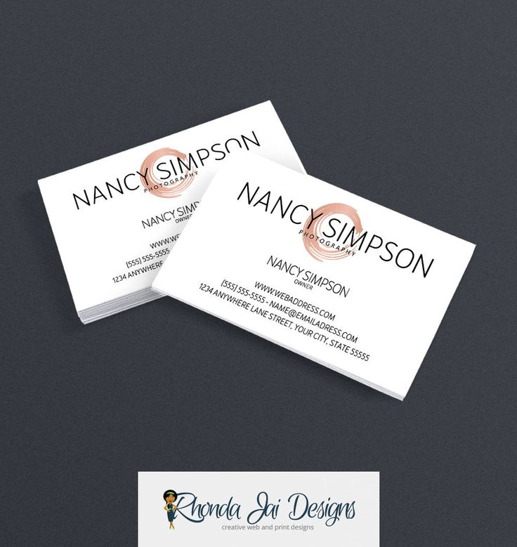 37 best Black and White Business Cards images on Pinterest ...