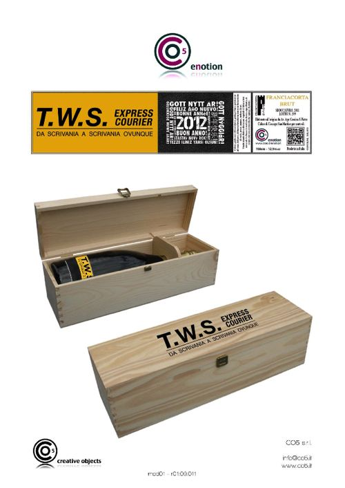 Natale 2012 x TWS Courrier Express