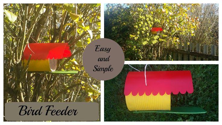 DIY - How to make easy Bird Feeder
